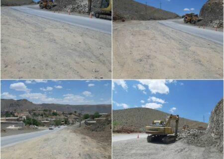 میزان پیشرفت پروژه رفیوژ میانی (ساخت بلوار ) در خیابان اصلی شهر هوره
