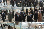 مراسم غبار روبی گلزار شهدا در اولین سالگرد سردار شهید حاج قاسم سلیمانی